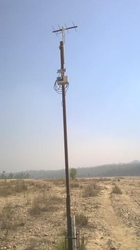 Transmitter unit present at River